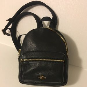 Authentic Coach mini backpack